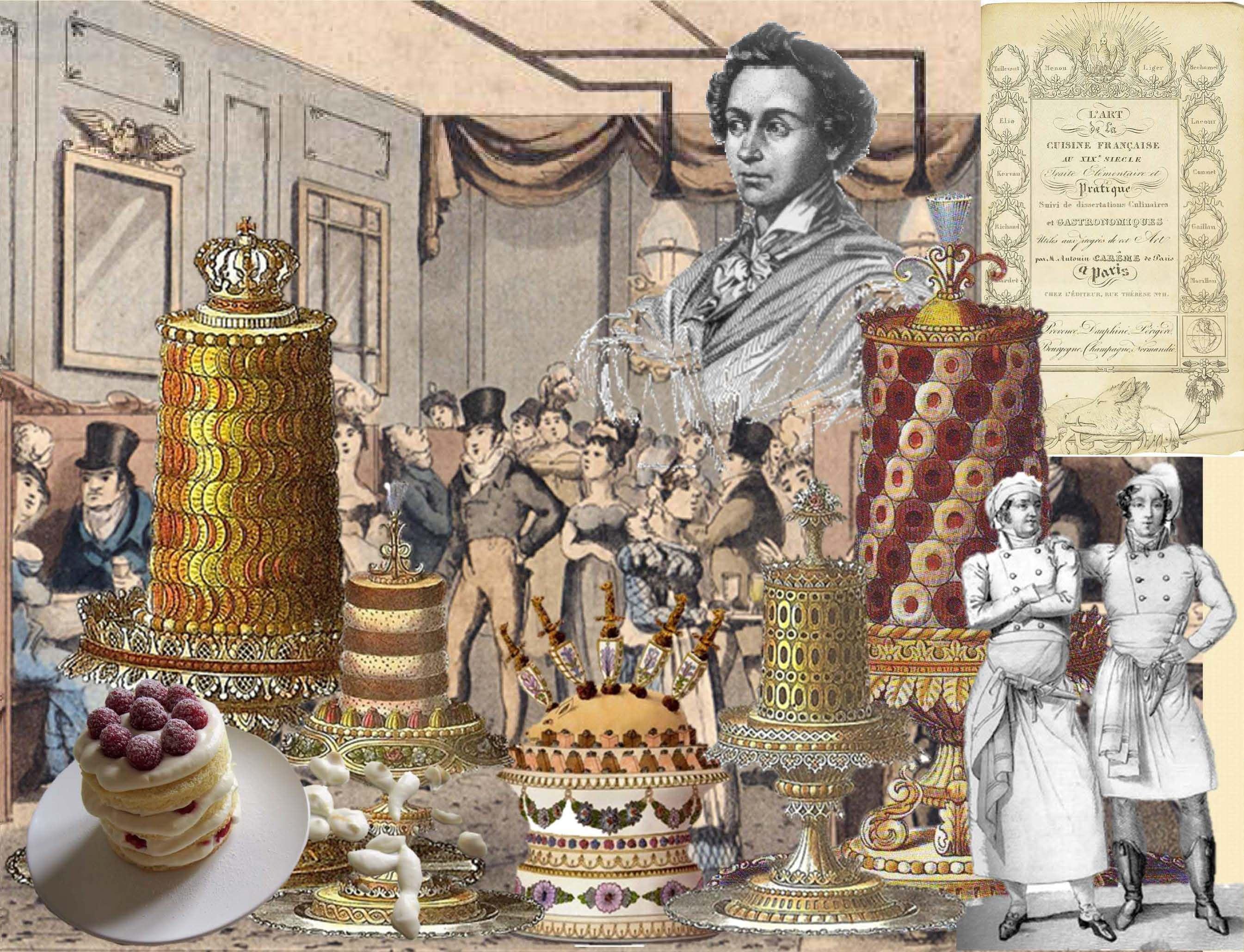 Architettura in Pasticceria: Antonin Carême, il Palladio dell'haute-cuisine